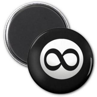 Imán mágico de la bola del infinito