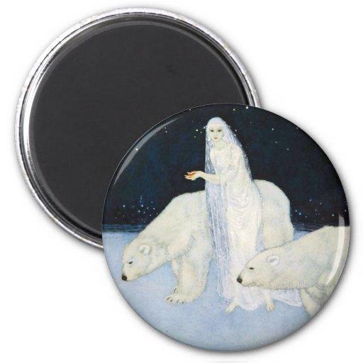 Imán mágico del invierno del oso polar - Edmund Du