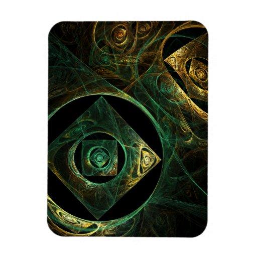 Imán mágico del premio del arte abstracto de las v