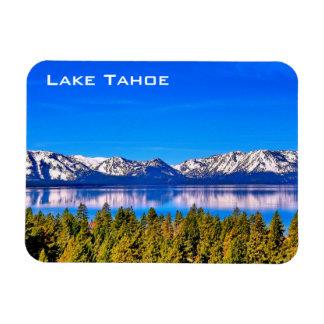 Imán magnífico de la foto del lago Tahoe 3 x 4