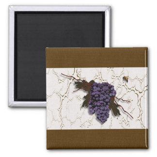 Imán magnífico del diseñador de las uvas