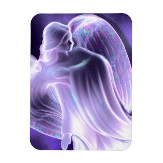 Imán majestuoso del ángel azul