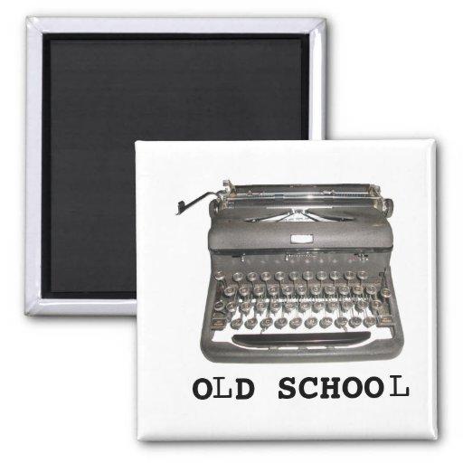 """Imán manual de la """"escuela vieja"""" de la máquina de"""