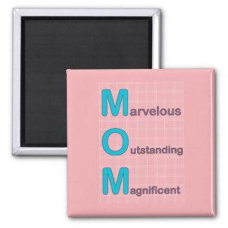 Imán maravilloso de la mamá