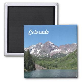 Imán marrón de la foto de Belces Aspen Colorado