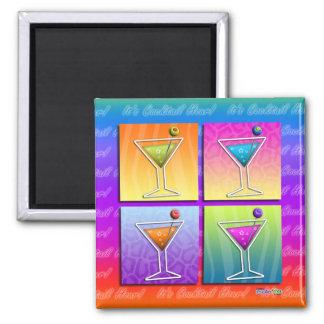 Imán - martinis del arte pop