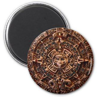 """Imán maya del calendario de """"AZTECA"""" Sun"""