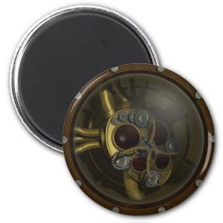 Imán mecánico del corazón de Steampunk