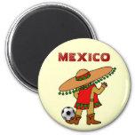 imán mexicano del futbol del jugador de fútbol