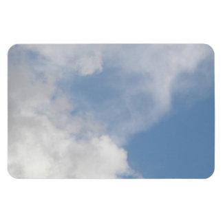 Imán mullido del premio de las nubes