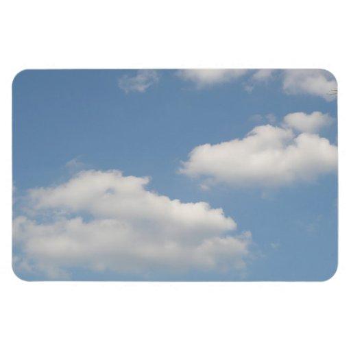Imán mullido del premio de las nubes de cúmulo