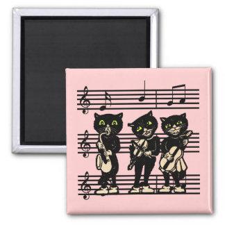 Imán musical de los gatos negros