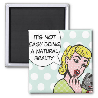 Imán natural del cómic de la belleza