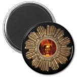Imán negro de Buda Sun