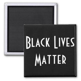 Imán negro de la materia de las vidas