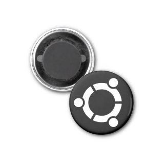 Imán negro de Ubuntu
