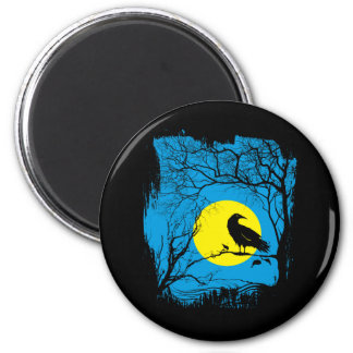 Imán negro del cuervo