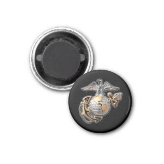 Imán negro del EGA del Cuerpo del Marines