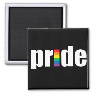 Imán negro del orgullo