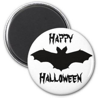 Imán negro del palo de Halloween