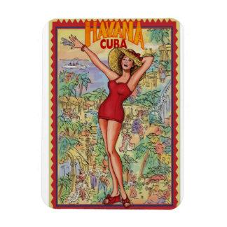 Iman Nevera Mujer Havana RetroCharms Vintage Cuba Iman