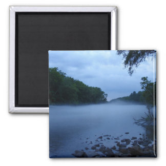 Imán - niebla del río Chattahoochee