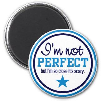 Imán NO PERFECTO - azul