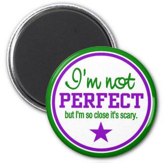Imán NO PERFECTO - verde/púrpura