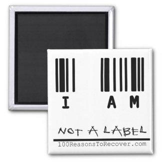 Imán - no una etiqueta