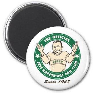 Imán oficial del club de fans de Jeff Rappaport
