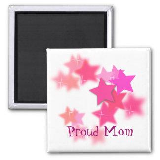 Imán orgulloso de la mamá
