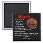 Imán original de Groupitr Marte