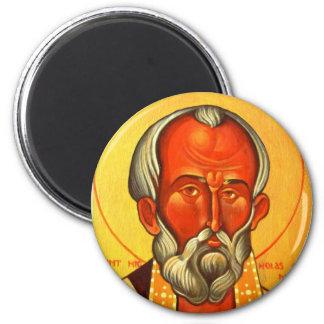 Imán ortodoxo del icono de San Nicolás