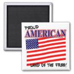 Imán patriótico americano orgulloso