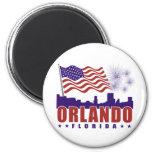 Imán patriótico de Orlando la Florida