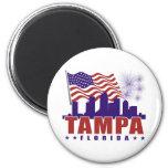 Imán patriótico de Tampa la Florida
