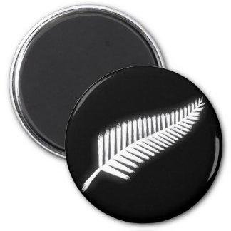 Imán patriótico del emblema nacional del helecho