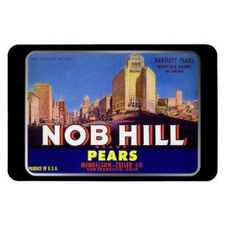Imán - peras de Nob Hill, por GalleryGifts