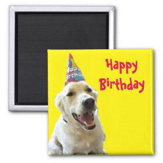 Imanes con diseños de cumpleaños en Zazzle
