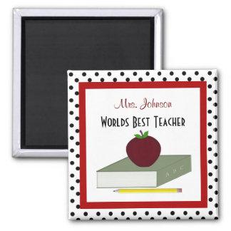 Imán personalizado del profesor