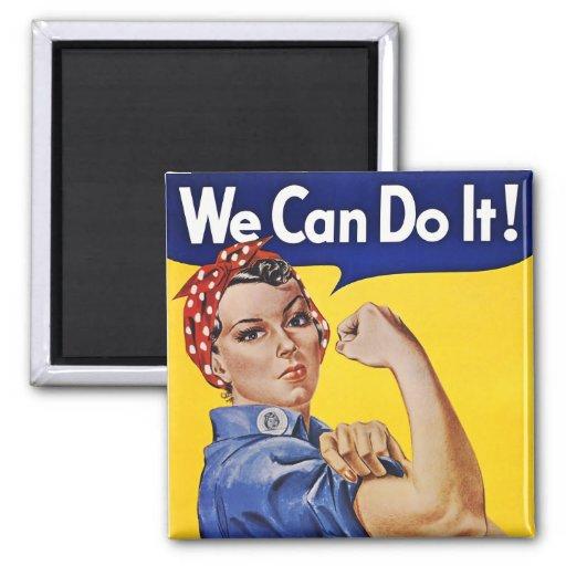 Imán: Podemos hacerlo - imagen del poster del vint