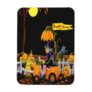 """Imán """"poder de Halloween de la calabaza """""""
