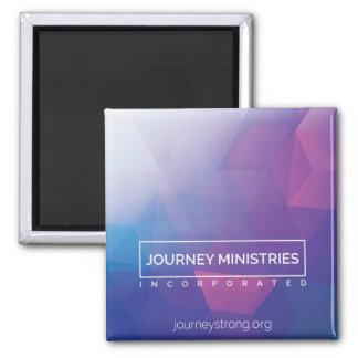 Imán poligonal de los ministerios del viaje