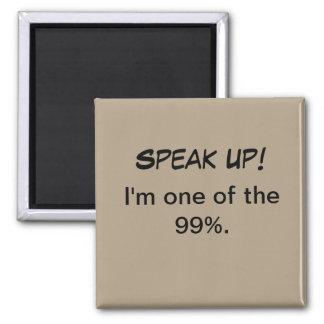 Imán político - soy uno del 99%