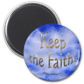 Imán positivo de la afirmación y de la fe