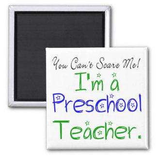 Imán preescolar del profesor