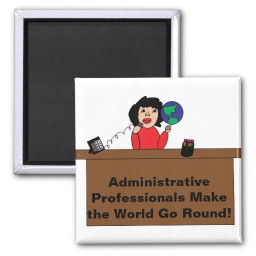 Imán profesional administrativo del mundo