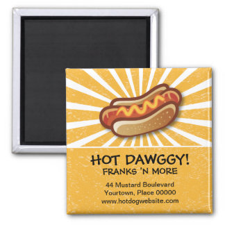 Imán promocional caliente de Dawg