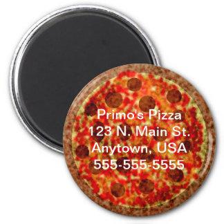 Imán promocional de la pizza de encargo de la