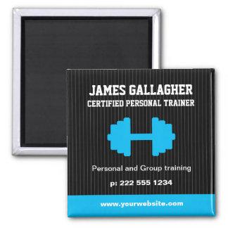 Imán promocional del instructor personal